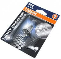Лампа галогенная Osram Night Breaker Unlimited +110% H1 (P14,5s) 12V 55W (блистер)