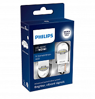 Светодиод Philips W21W 1.7W 6000K White X-tremeUltinon LED gen2 12V (2 шт)