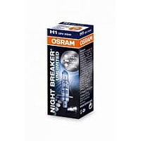 Лампа галогенная Osram Night Breaker Unlimited +110% H1 (P14,5s) 12V 55W