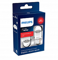 Светодиод Philips W21W 2.1W RED X-tremeUltinon LED gen2 12V (2 шт)