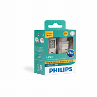 Светодиод Philips WY21W 4.3W Ultinon LED gen2 + CANBUS жёлт 12V (2 шт)