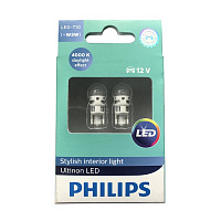 Светодиод Philips W5W LED 1,0W 4000K 12V