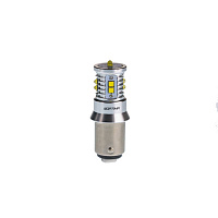 Светодиод Optima MINI, P21/5W (BAY15D) WHITE, CAN, CREE XB-D*10, 5500K, 12-24V