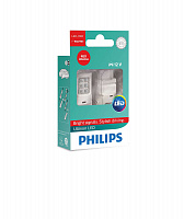 Светодиод Philips W21/5W 2.7W RED Ultinon LED 12V (2 шт)